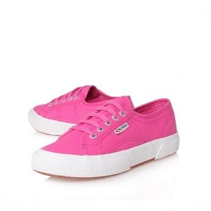 Superga Shoes - Superga Pink Sneakers