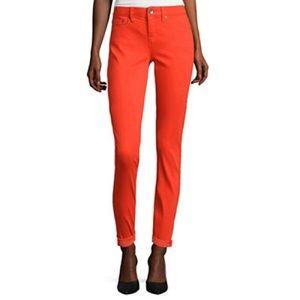 jcpenney Denim - Bright Orange Skinny Jeans