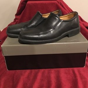 Johnston & Murphy Other - Johnston & Murphy Goodwin Black Leather Shoes