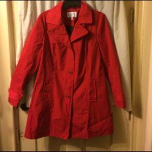 Relativity Jackets & Blazers - Red jacket