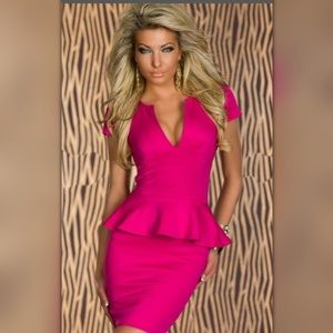 Dresses & Skirts - New hot pink dress