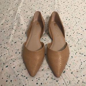 BC Footwear Shoes - NWOT BC Vegan D'orsay Flats