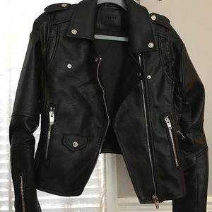 Blank NYC Jackets & Blazers - Blank NYC faux leather jacket