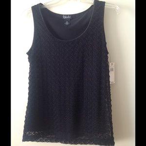 Rafaella Tops - NWT Size M black Rafaella top