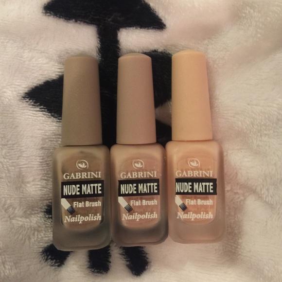 gabrini Other | Nude Matte Nail Polishes | Poshmark