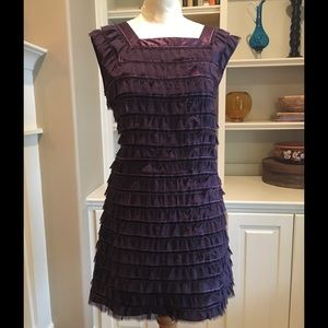 French Connection Dresses & Skirts - Purple Flapper Style Dress French Connection