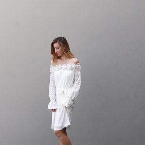 Dresses & Skirts - ivory boho dress