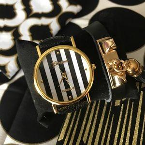 Geneva Platinum Accessories - ✨New! Striped Simplicity