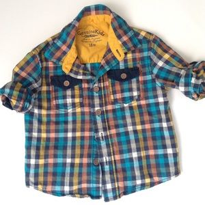 Osh Kosh Other - Baby Boys OSHKOSH BUTTON UP CUFF SLEEVES 18Mo