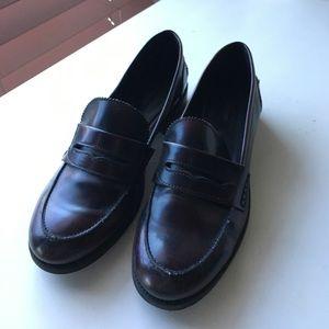 Zara penny loafers
