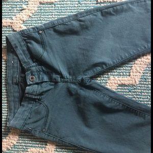 Blank NYC Denim - Blank NYC green skinny jeans size 24