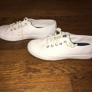 Sperry Top-Sider Shoes - Sperry Seacoast Canvas Sneaker. Size 7.5