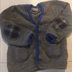 Baby Graziella Other - Italian Boys Wool buttoned cardigan