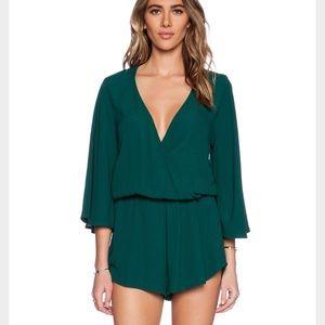 Blue Life Dresses & Skirts - Blue life green romper