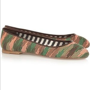 M by Missoni Shoes - M MISSONI Jacquard ballet flats