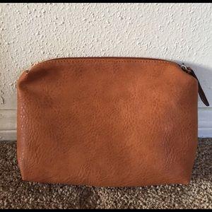 Free People Handbags - Free People faux leather makeup bag