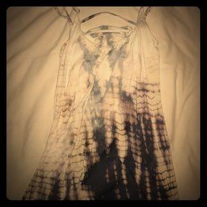 Gypsy 05 Dresses & Skirts - GYPSY 05 TIE DYE ADJUSTABLE STRAP W BRA DRESS