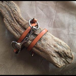 Jewelry - Leather wrist wrap bracelet