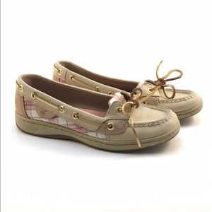 Sperry Top-Sider Shoes - Women's Sperry Topsider pink Plaid