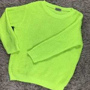 Alice & You Sweaters - Alice Neon yellow sweater size Small