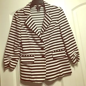 Soho Apparel Jackets & Blazers - Striped Blazer