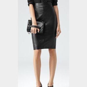 Reiss Dresses & Skirts - NWT REISS Pencil Skirt - Shannon Leather