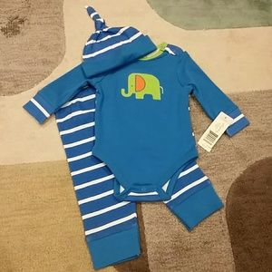 Offspring Other - 9 month Onesie Set (3 piece)