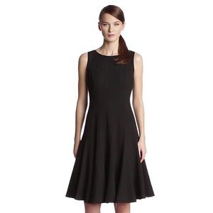 Calvin Klein Sleeveless Solid Fit-and-Flare Dress