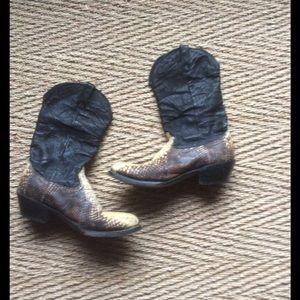 Durango Shoes - EUC BEAUTIFUL DURANGO LEATHER COWBOY BOOTS