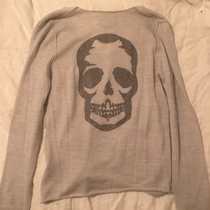 Zadig & Voltaire Sweaters - 100% cashmere grey Zadig and Voltaire sweater