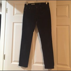 AG corduroy Stevie Ankle jeans