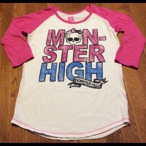 monster high Other - Girl's Monster High 3/4 Sleeve XL