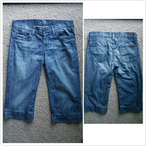 7 For All Mankind Denim - 7 For All ManKind Capris