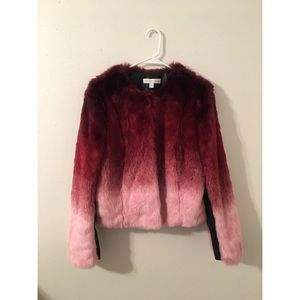 New York & Company Jackets & Blazers - 🌸 Ombré Fur Coat 🌸