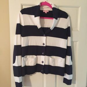 🎈SOLD🎈Lilly Pulitzer Striped Cardigan