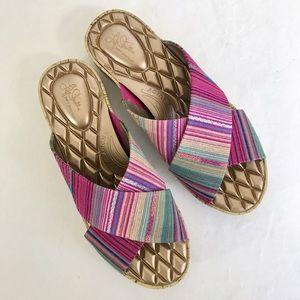 Life Stride Shoes - Life Stride super comfy criss-cross slide sandal