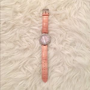 Adee Kaye Accessories - Adee Kaye Pink Snakeskin Watch