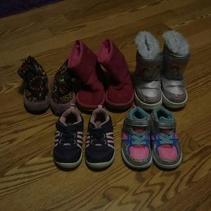 Other - Toddler girl shoe and boot bundle