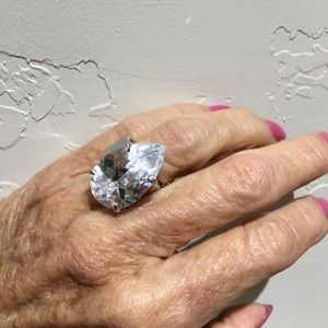 Jewelry - Authentic White Topaz Ring