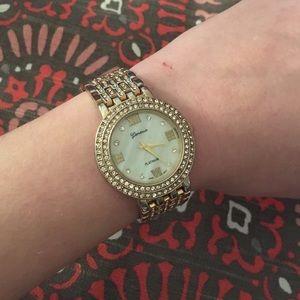 Geneva Platinum Accessories - Gold Geneva Watch
