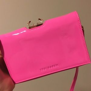 Ted Baker London Handbags - NEW Ted Baker Hot Pink Crossbody Wallet Bag