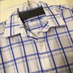Tasso Elba Other - Tasso Elba Mens Button-up Long Sleeve Plaid Shirt