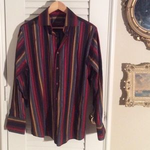 Roar Other - 🎻🎻 Men's ROAR fancy stripe shirt.