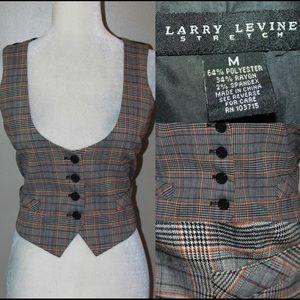 Larry Levine Jackets & Blazers - LARRY LEVINE Classic ladies vest