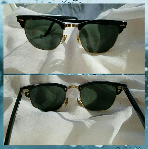 d2b014eed56bc Authentic vintage Ray ban w1115 clubmaster. M 58cf38a14225be22cb0338cb