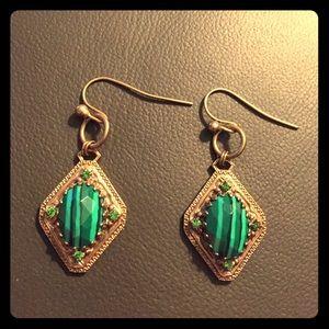 Sorrelli Jewelry - Sorrelli Green Drop Earrings