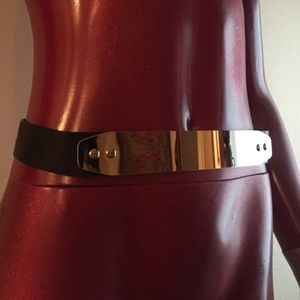 Chic Chrome belt 🐩 No Scratches!!