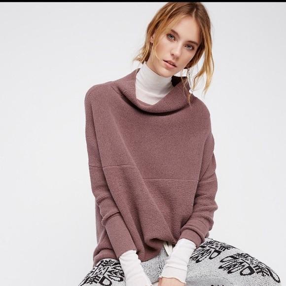 Free People Tops Ottoman Slouchy Tunic Top Sweater Poshmark