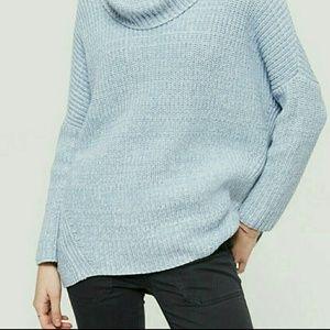 Lou & Grey Sweaters - 🌻LOU & GREY RIBBED PONCHO SWEATER🌻