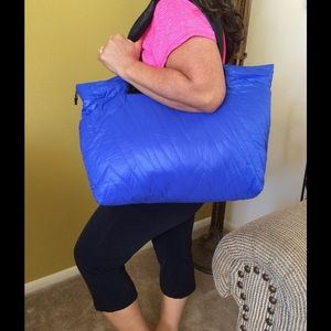 Electric Yoga Handbags - Blue yoga gym bag Electric Yoga ⚡️ carry all tote